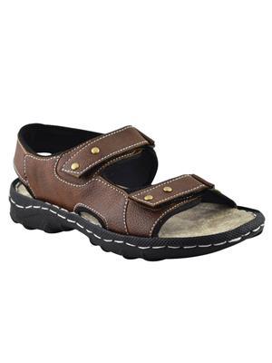 Elvace 4008 Brown Men Sandals