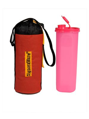 Signoraware 410 Pink Bottle With Bag