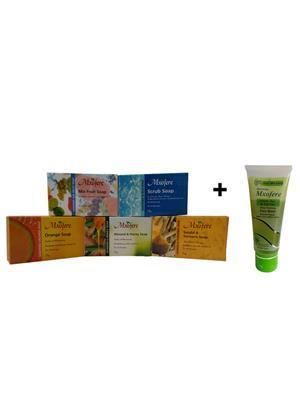 Mxofere 43Msohtwn Natural Handmade Soap Set Of 6