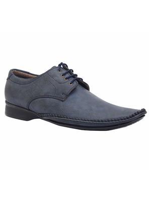 Scootmart 445 Blue Men Formal Shoes