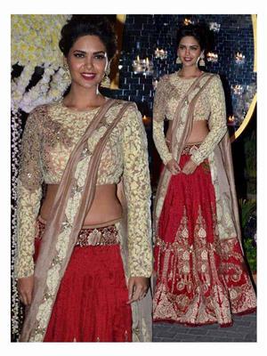 Ethnic Culture 471 Red Women Lehenga Choli