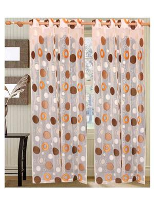 SAI ARPAN 5001-7-1 White Door Curtain