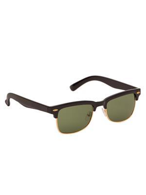 Adine 5001 Black-Green Wayfarer