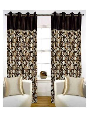SAI ARPAN 5004-7-1 Brown Door Curtain