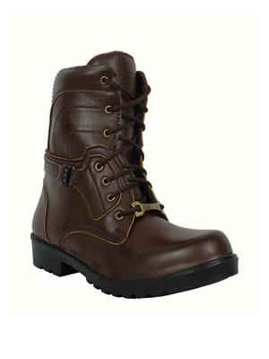 Elvace 5005 Brown Men Boots