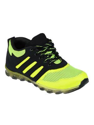 Hillsvog 5010 Black Men Sports Shoes