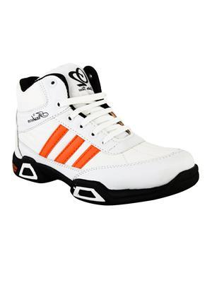Hillsvog 5012 White Men Sports Shoes