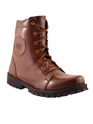 Elvace 5017 Dark Tan Men Boots