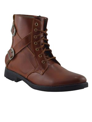 Elvace 5018 Brown Men Boots
