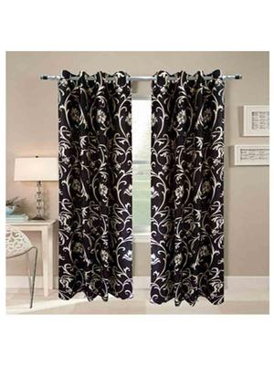 SAI ARPAN 5026-7-2 Brown Door Curtain