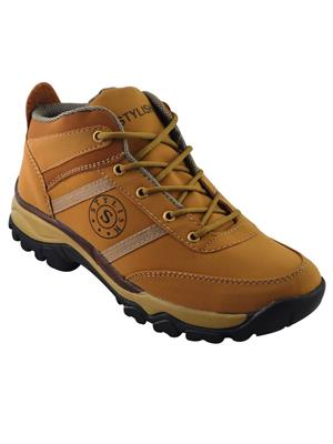 Elvace 5044 Tan Men Boots