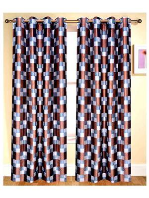 SAI ARPAN 5049-7-1 Multicolor Door Curtain