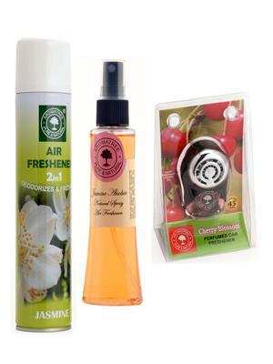 Aromatree 51jjc3007510 Air freshener Car Perfume 10 Ml Set of 3