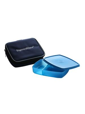 Signoraware 527 Blue Lunch Box With Bag