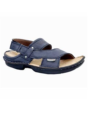 Lexus Genuine Leather Lex-555-Blu Blue Men Sandals