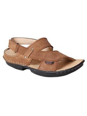 Lexus Genuine Leather Lex-555-Tan Tan Men Sandals
