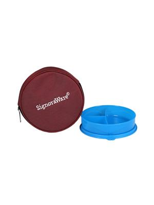 Signoraware 555 Blue Lunch Box With Bag