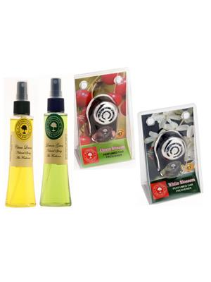Aromatree 55scslpcpw75751010 Air freshener Car Perfume 10 Ml Set of 4