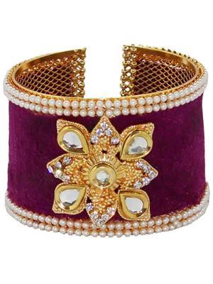 Soni Art Jewellery 56B Purple Women Bangles