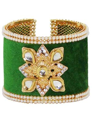 Soni Art Jewellery 56C  Green Women Bangles
