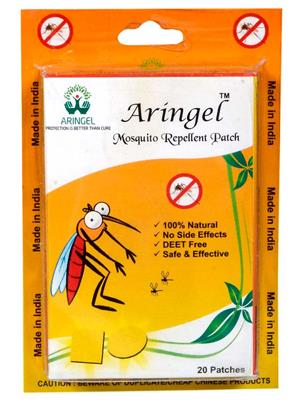 Aringel 0005 40 Herbal Mosquito Repellent Patches