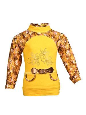 Ziama 6006 Yellow Girl Top