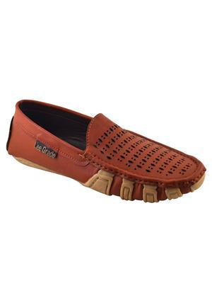 Elvace 6025 Brown Men Loafers