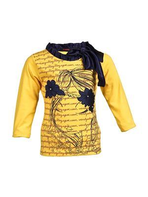Ziama 6030 Yellow Girl Top