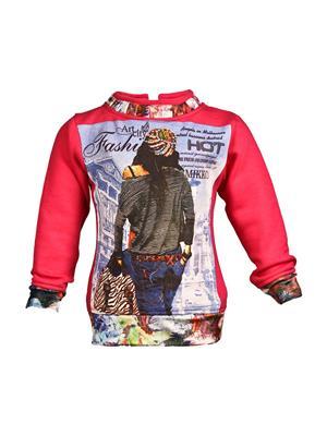 Ziama 6071 Red Girl Sweatshirts