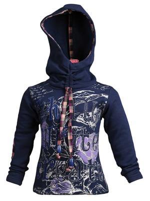 Ziama 6073 Navy Girl Sweatshirts