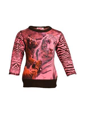 Ziama 6078 Pink Girl Sweatshirts