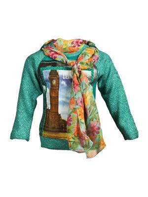 Ziama 6085 Green Girl Sweatshirts