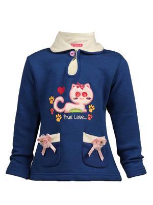 Ziama 6268 Blue Girl Sweatshirts