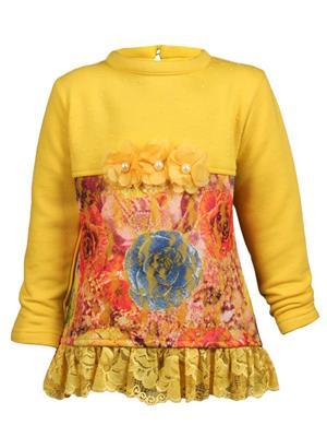 Ziama 6294 Yellow Girl Sweatshirts
