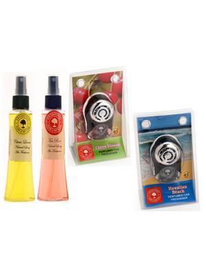 Aromatree 62scstpcph75751010 Air freshener Car Perfume 10 Ml Set of 4
