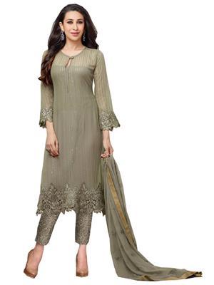 Rahi Fashion 63008 grey Women Salwar Suit