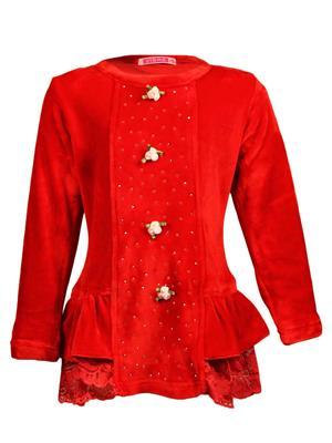 Ziama 6303 Red Girl Sweatshirts