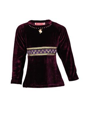 Ziama 6305 Purple Girl Sweatshirts