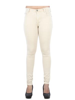 EBONY-nx .65_Lightfone Beige Women Jeans