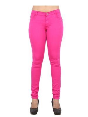 EBONY-nx 0.65 Pink Women Jeans