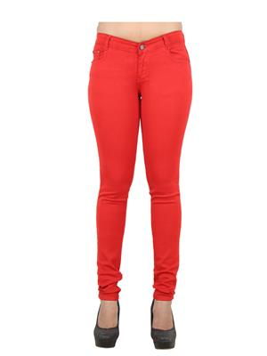 EBONY-nx 0.65 Red Women Jeans