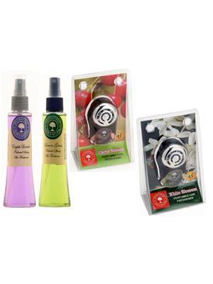 Aromatree 67seslpcpw75751010 Air freshener Car Perfume 10 Ml Set of 4