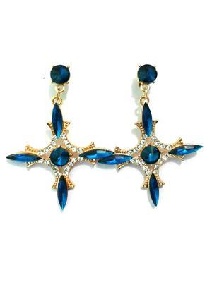 Shreya Collection 683 Blue Women Earrings