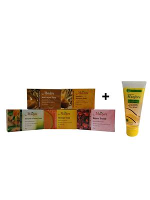 Mxofere 6Athorwa Natural Handmade Soap Set Of 6