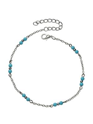 Fayon 70031 Silver Women Anklets and Payals