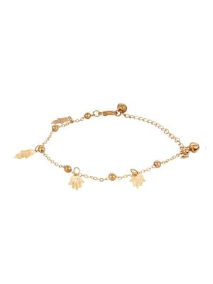 Fayon 70032 Golden Women Anklets and Payals