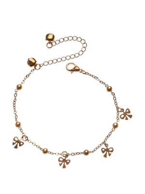 Fayon 70035 Golden Women Anklets and Payals