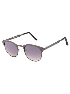 Rafa 7021GUNGRADGREY Grey Unisex Round Sunglasses
