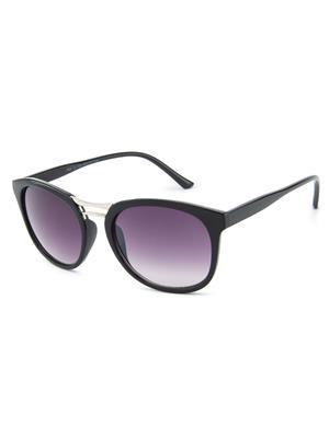 Rafa 7030BLKGDGRYSHINY Black Unisex Wayfarer Sunglasses