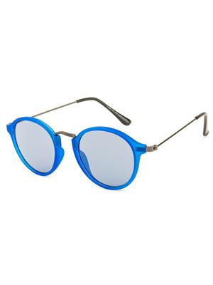 Rafa 7059BLUEGUNGREY Blue Unisex Round Sunglasses